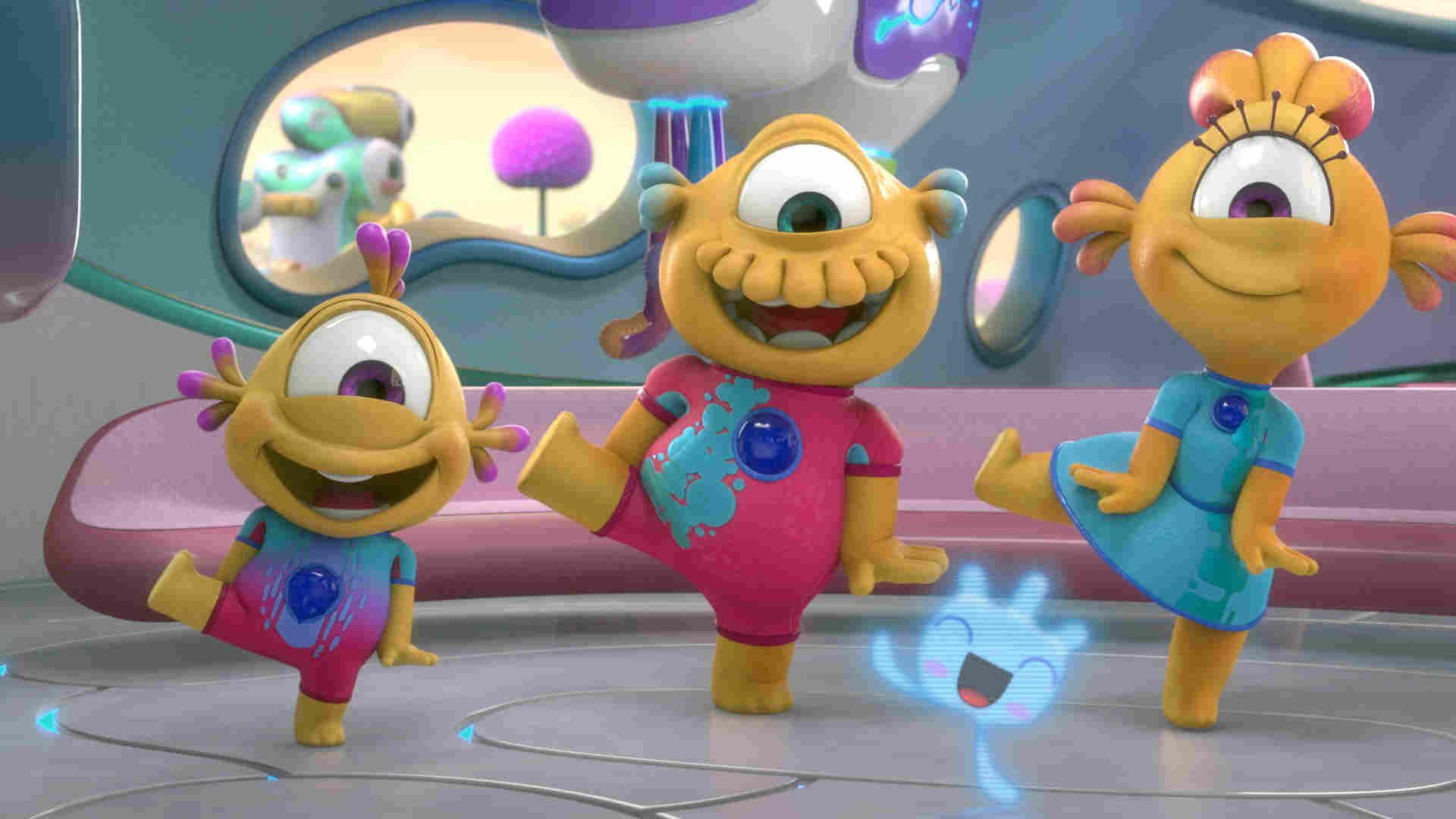 Nivis, amigos de otro mundo ya es un éxito en Disney Junior ...